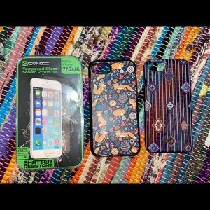 iPhone screen protector and phone cases covers
